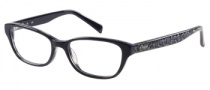 Candies C Isla Eyeglasses Eyeglasses - BLK: Black Grey