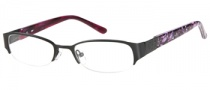 Candies C Paula Eyeglasses Eyeglasses - BLK: Satin Black