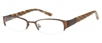 Candies C Paula Eyeglasses Eyeglasses - BRN: Satin Brown