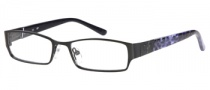 Candies C Payton Eyeglasses Eyeglasses - BLK: Satin Black