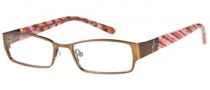 Candies C Payton Eyeglasses Eyeglasses - BRN: Satin Brown