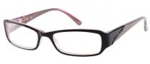 Candies C Sophie Eyeglasses Eyeglasses - BLKPK: Black Crystal 