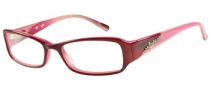 Candies C Sophie Eyeglasses Eyeglasses - BUPK: Burgundy Pink