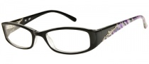 Candies C Sydney Eyeglasses  Eyeglasses - BLK: Black Crystal