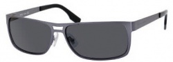 Hugo Boss 0451/P/S Sunglasses Sunglasses - 0C66 Semi Matte Blue (3Q Smoke Lens)