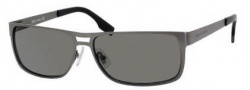 Hugo Boss 0451/P/S Sunglasses Sunglasses - 0R80 Semi Matte Dark Ruthenium (1Z Brown Mirror Silver Lens)