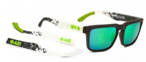Spy Optic Helm Sunglasses Sunglasses - Spy + Ken Block Cult  / Grey W/. Red Spectra