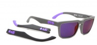 Spy Optic Helm Sunglasses Sunglasses - Spy + Ken Block Livery/ Grey W/ Green Spectra