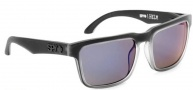 Spy Optic Helm Sunglasses Sunglasses - Black Ice / Grey W/ Purple Spectro
