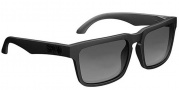 Spy Optic Helm Sunglasses Sunglasses - Matte Black / Grey