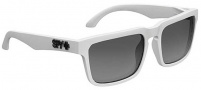 Spy Optic Helm Sunglasses Sunglasses - Matte White / Grey