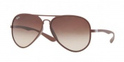 Ray-Ban RB4180 Sunglasses Sunglasses - 881/13 Matte Brown / Brown Gradient