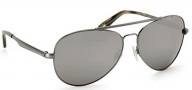 Spy Optic Parker Sunglasses Sunglasses - Antique Silver / Grey W/ Black Mirror