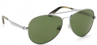 Spy Optic Parker Sunglasses Sunglasses - Silver / Grey Green Polarized