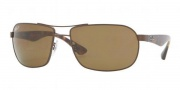 Ray-Ban RB3492 Sunglasses Sunglasses - 014/57 Brown Crystal / Brown Polarized