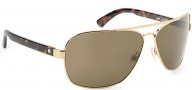 Spy Optic Showtime Sunglasses Sunglasses - Gold W/ Classic Tortoise