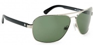 Spy Optic Showtime Sunglasses Sunglasses - Matte Black W/ '93 Helmet / Grey