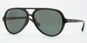 Ray-Ban RB4125F Sunglasses Sunglasses - 901/71 Black / Green