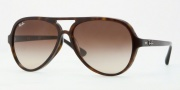 Ray-Ban RB4125F Sunglasses Sunglasses - 902/13 Dark Havana / Brown Gradient