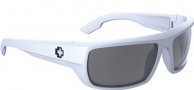 Spy Optic Bounty Sunglasses Sunglasses - Matte White / Grey