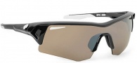 Spy Optic Screw Sunglasses Sunglasses - Black / Bronze W/ Silver Mirror