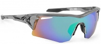 Spy Optic Screw Sunglasses Sunglasses - Clear Smoke / Bronze W/ Green Spectro
