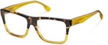 Diesel DL5002 Eyeglasses Eyeglasses - 050 Shiny Transparent Honey / Shaded Dk Havana