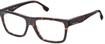Diesel DL5002 Eyeglasses Eyeglasses - 052 Shiny Dark Havana