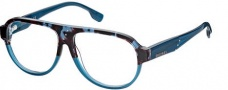 Diesel DL5003 Eyeglasses Eyeglasses - 050 Shiny Transparent Blue / Grey Havana