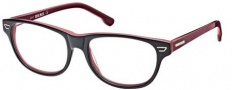 Diesel DL5005 Eyeglasses Eyeglasses - 020 Transparent Grey / Burgundy