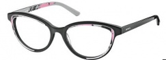 Diesel DL5009 Eyeglasses Eyeglasses - 005 Black / Powder Pattern