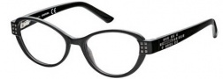 Diesel DL5011 Eyeglasses Eyeglasses - 001 Transparent Dark Grey