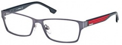 Diesel DL5014 Eyeglasses Eyeglasses - 091 Semi Shiny Satin Blue