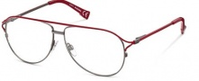Diesel DL5017 Eyeglasses  Eyeglasses - 068 Shiny Gunmetal / Red