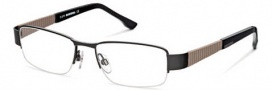 Diesel DL5018 Eyeglasses Eyeglasses - 002 Semi Shiny Black 