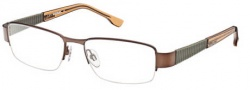 Diesel DL5018 Eyeglasses Eyeglasses - 049 Semi Shiny Brown