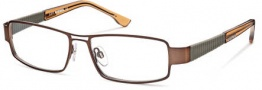 Diesel DL5019 Eyeglasses Eyeglasses - 049 Semi Shiny Brown