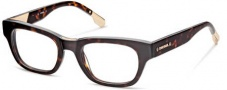 Diesel DL5035 Eyeglasses Eyeglasses - 052 Shiny Dark Havana