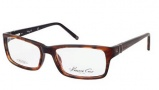 Kenneth Cole New York KC0181 Eyeglasses Eyeglasses - 048 Shiny Dark Brown