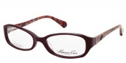 Kenneth Cole New York KC0182 Eyeglasses Eyeglasses - 069 Shiny Bordeaux