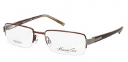 Kenneth Cole New York KC0183 Eyeglasses Eyeglasses - 049 Matte Dark Brown
