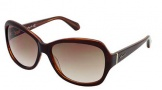 Kenneth Cole New York KC7033 Sunglasses Sunglasses - 50F Dark Brown / Gradient Brown