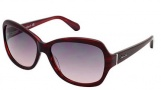 Kenneth Cole New York KC7033 Sunglasses Sunglasses - 83B Violet / Gradient Smoke