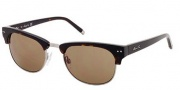 Kenneth Cole New York KC7039 Sunglasses Sunglasses - 52E Dark Havana / Brown