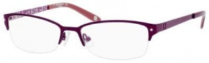 Liz Claiborne 377 Eyeglasses Eyeglasses - 0Y76 Purple Floral 