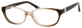 Liz Claiborne 389 Eyeglasses Eyeglasses - 0JPR Brown Fade Glitterz 