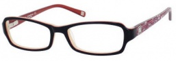 Liz Claiborne 391 Eyeglasses Eyeglasses - 0JPH Black Crystal Floral 