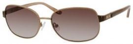 Liz Claiborne 554/S Sunglasses Sunglasses - 0FG1 Almond Brown (Y6 Brown Gradient Lens)