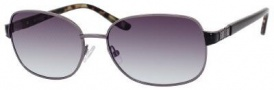 Liz Claiborne 554/S Sunglasses Sunglasses - 0CVL Dark Ruthenium (5M Gray Gradient Aqua Lens)