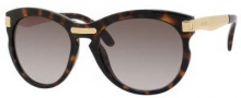Jimmy Choo Lana/S Sunglasses Sunglasses - 0MY6 Havana / HA Brown Gradient Lens